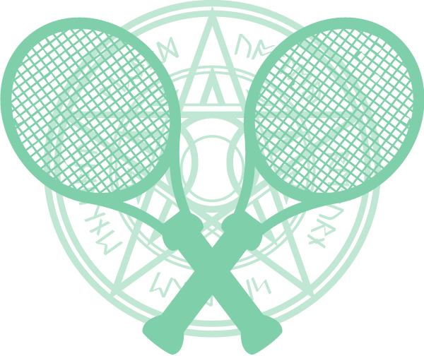 Crossed Racquets Sigil